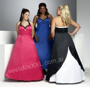 Vestidos de novia y fiesta para gorditas talles especiales